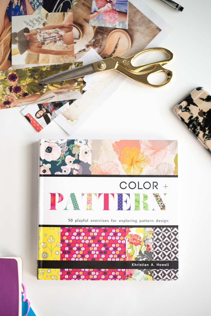 Color and Pattern Book by Khristian Howell