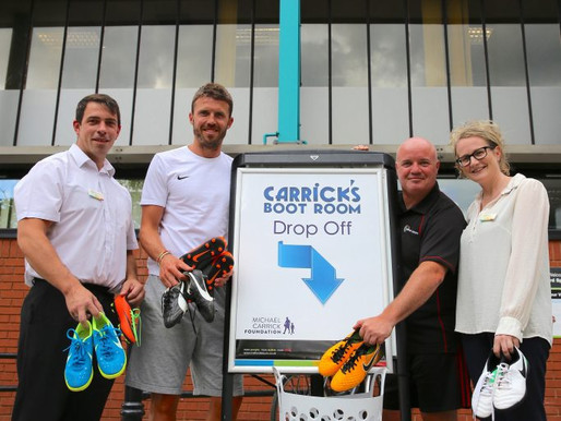 The MCF partners with Trafford Leisure and Manchester City Council for a boot amnesty this summer