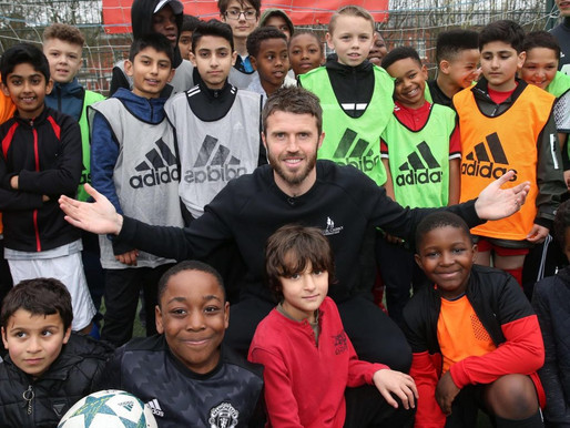 Michael Carrick launches 'Street Reds' project with Manchester United Foundation