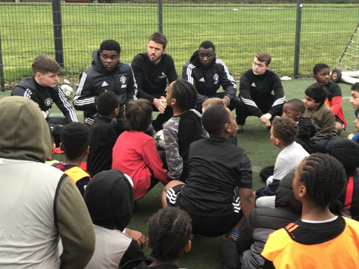 Michael Carrick launches football project in Newcastle