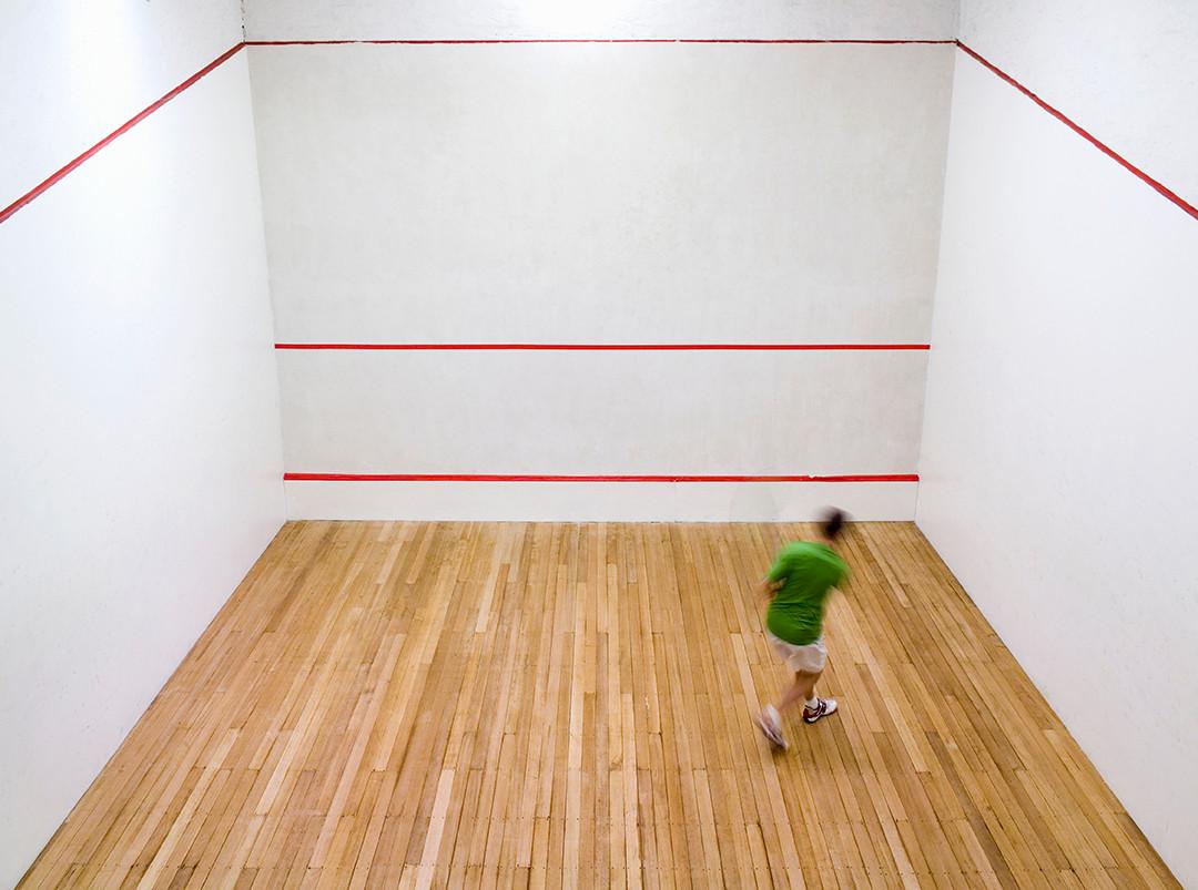 Squash-Spieler