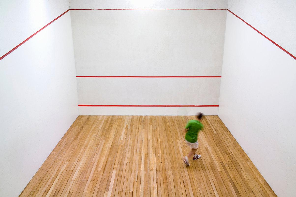 Squash Single Slot £8 per session