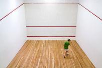 Squash Jogador