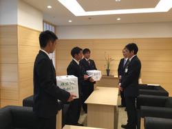 熊本震災支援金贈呈