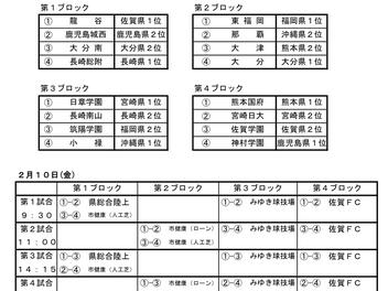 第38回九州高等学校(U-17)サッカー大会