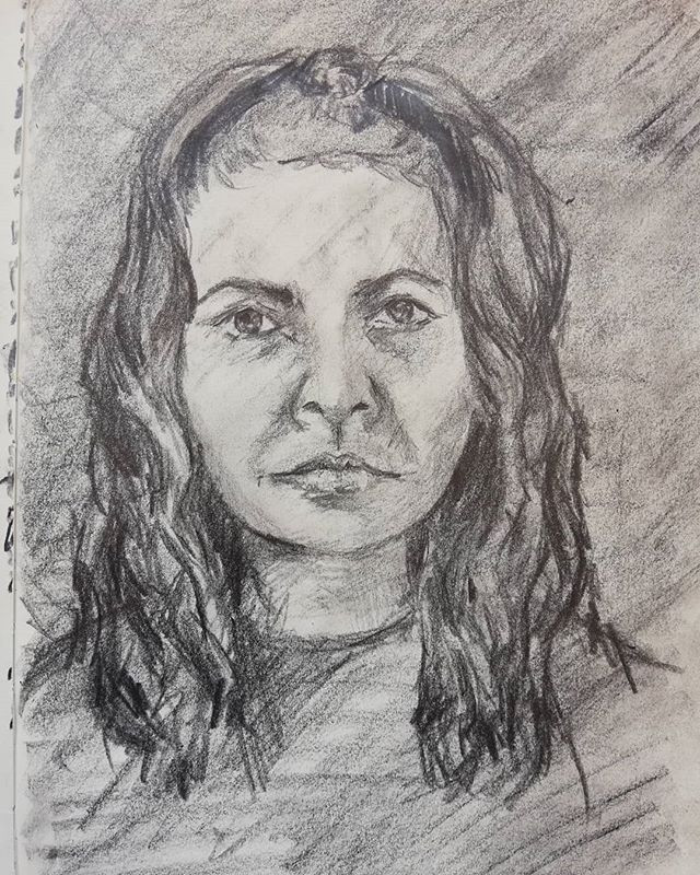 Day 1: Self (Isolation) Portrait