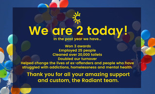 We are 2!