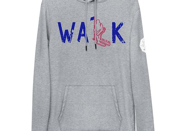 WALK - Lightweight Hoodie - USA Blue