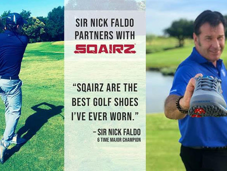 SQAIRZ Announces Partnership with Iconic Golfer Sir Nick Faldo