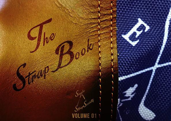 Strap Book Cover - Volume 01 - darker.jp