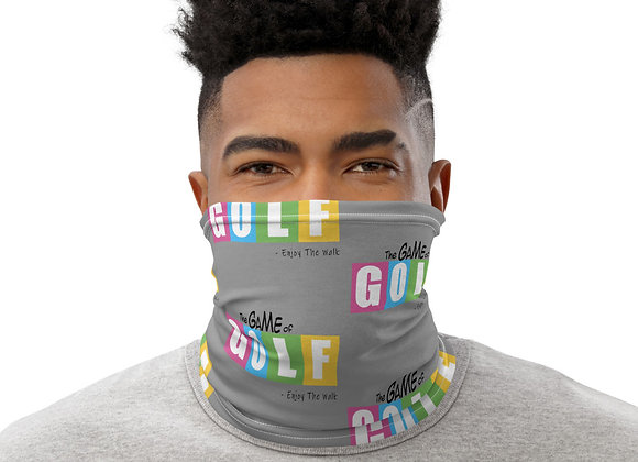 The Game of Golf - Neck Gaiter Grey
