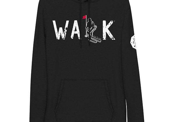 WALK - Lightweight Hoodie - White Logo