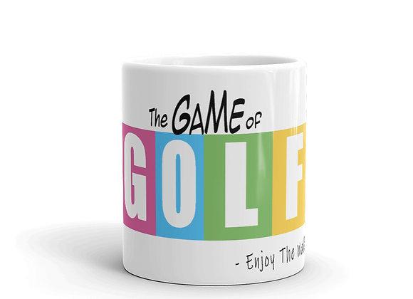 The Game of GOLF - Mug