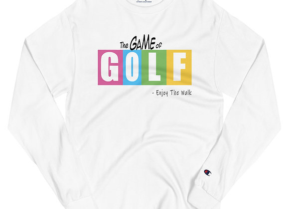 The Game of GOLF (LIFE) - Mens Champion Long Sleeve Tee