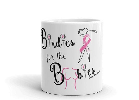 Birdies For The Boobies - 11oz Mug