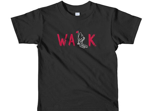 WALK - Short sleeve kids t-shirt