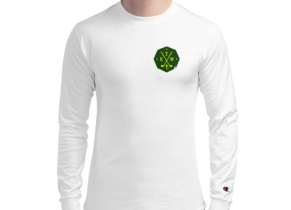 ETW Shield - Spring Tradition - Men's Champion Long Sleeve Tee