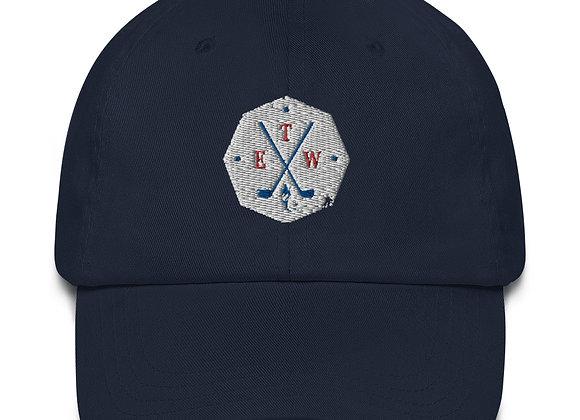 Patriotic ETW Shield - Dad hat - USA Backing
