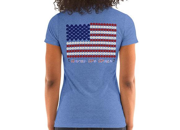 United We Walk - Women's All American Tri Blend Tee