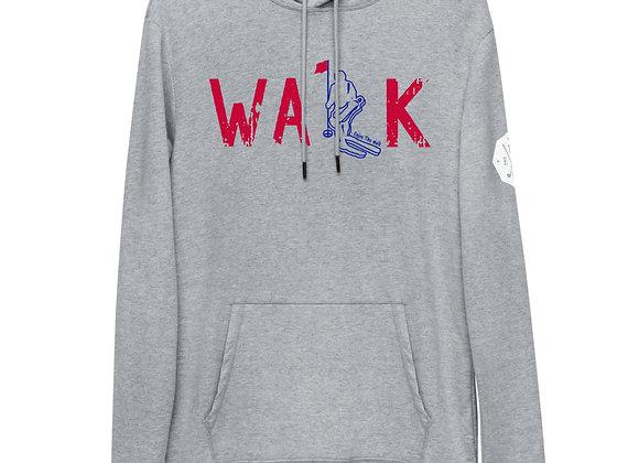 WALK  Lightweight Hoodie - USA Red