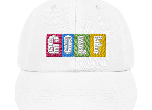 The Game of GOLF - Champion Dad Cap