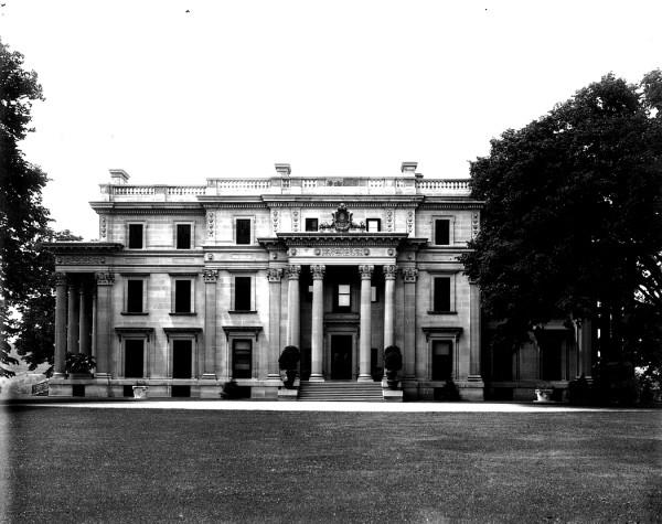 The Vanderbilt Mansion ca. 1898.
