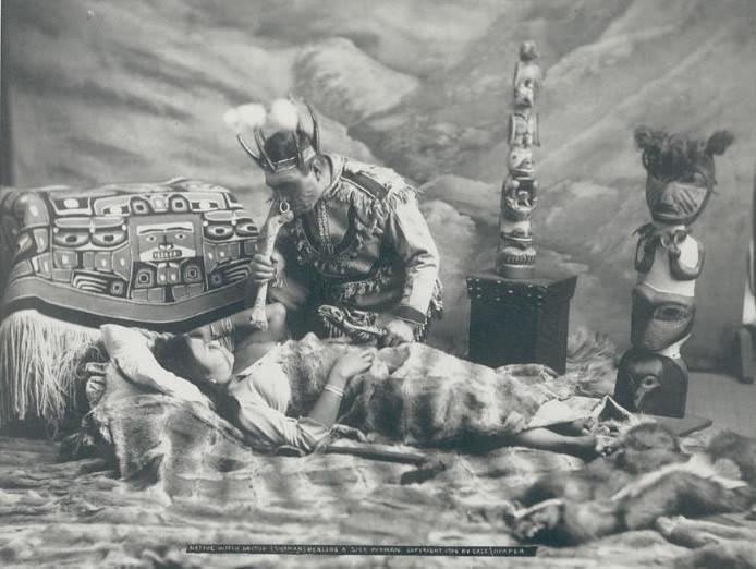 Shaman Performing a Soul Retrieval Ceremony