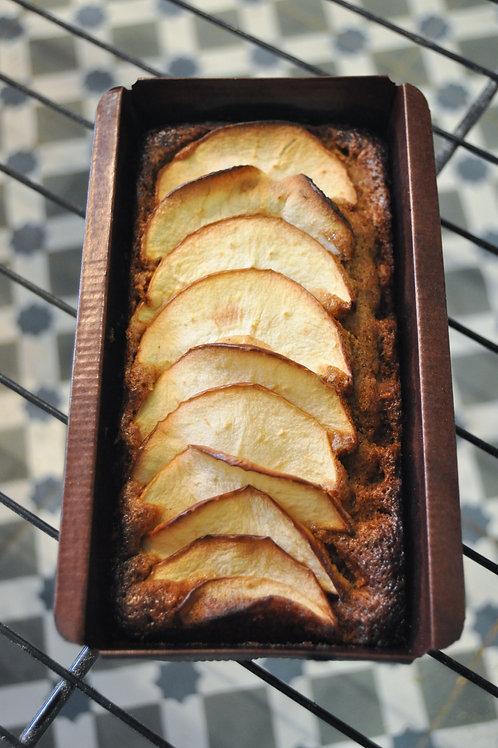 Bizcocho de manzana y canela.