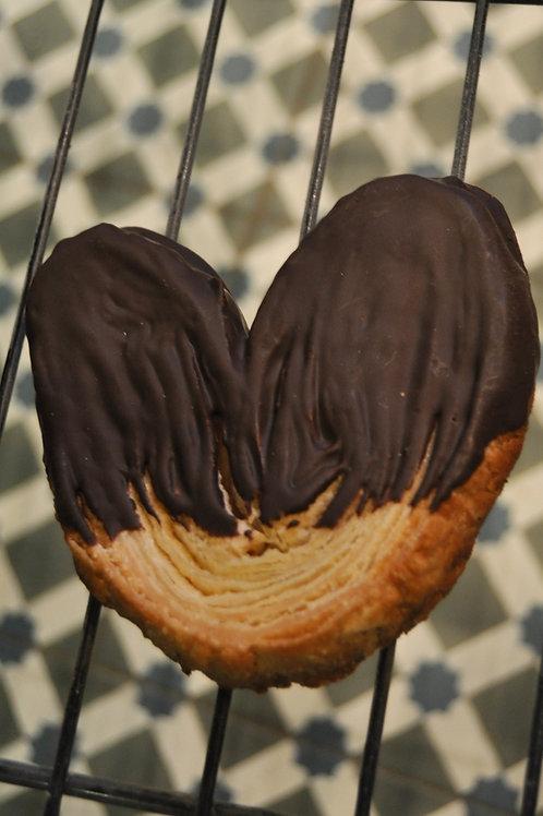 Palmera con chocolate