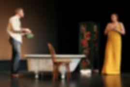 Hum of the Arctic, Milwaukee Repertory Theatre, Teddy Spencer, Bri Sudia