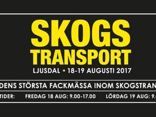 Välkommen att se våra nyheter på Mittia Skogstransport 18-19 Augusti.