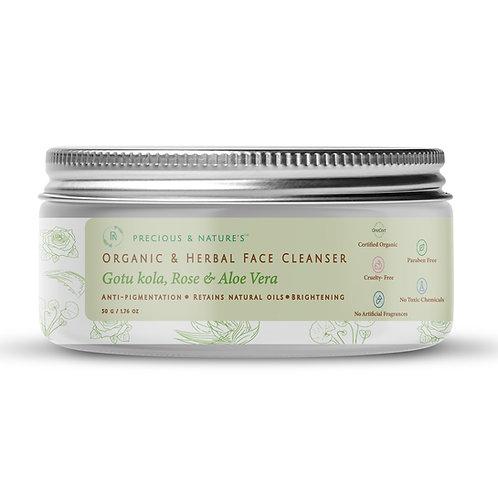 Gotu Kola, Rose & Aloe Vera Herbal Face Cleanser