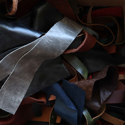 Leather Remnants   Straps & Strips