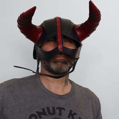 Leather Viking Hat