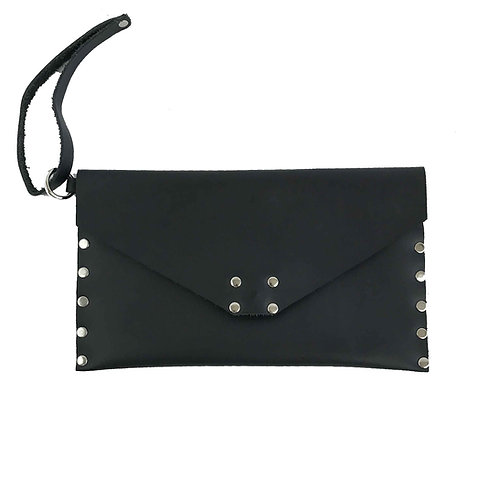 Leather Clutch | Black