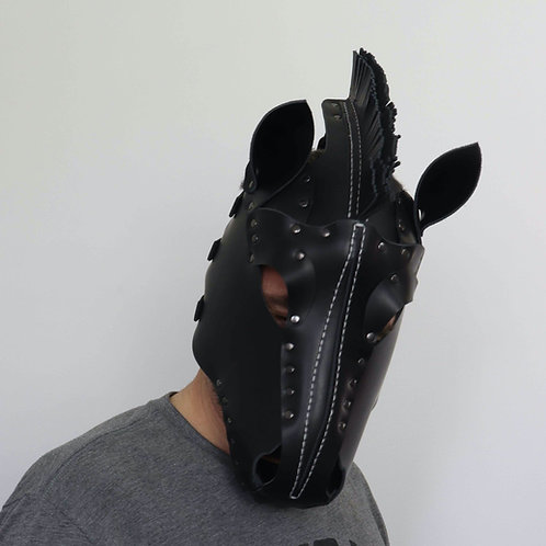 Leather Horse Mask