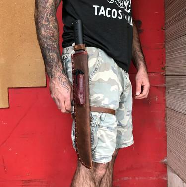 Leather Knife Sheath