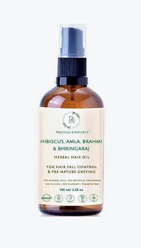 Hibiscus, Amla, Brahmi & Bhringaraj Oil