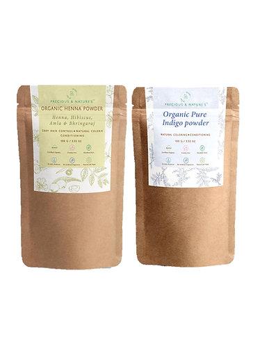 Organic Hair color & Nourishment Kit