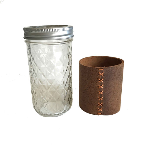 Leather Drink Sleeve