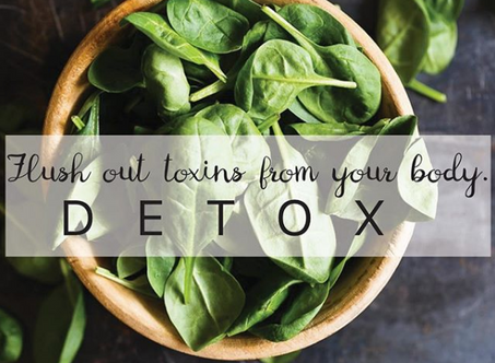 Let toxins flow out of your body!