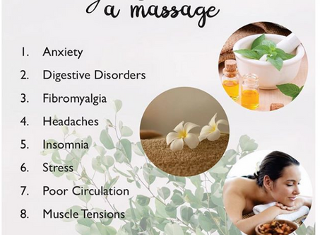 8 signs you need a massage