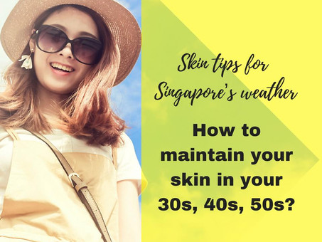 Beautiful skin in your 30s, 40s, 50s!