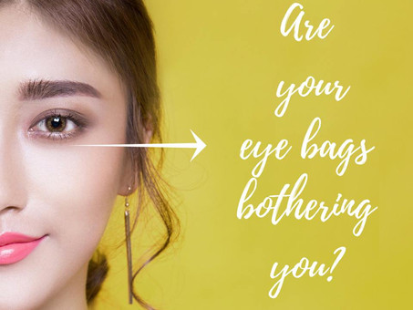 Are your eye bags bothering you?