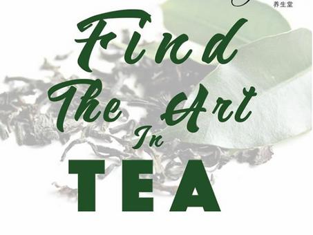 Find the art in tea!