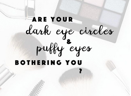 Wave goodbye to your dark eye circles and puffy eyes!