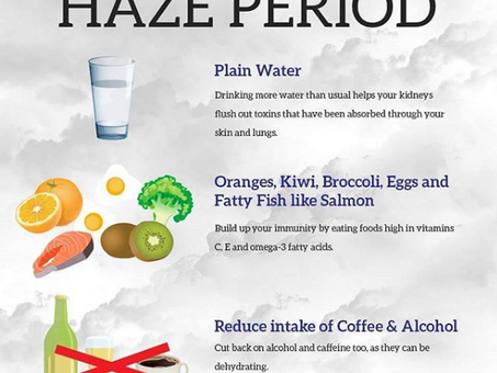 Health tips to boost your immune system during haze period!
