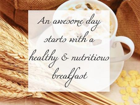 Healthy Breakfast Idea!