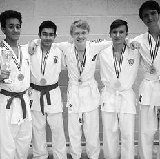 UKA Karate boys