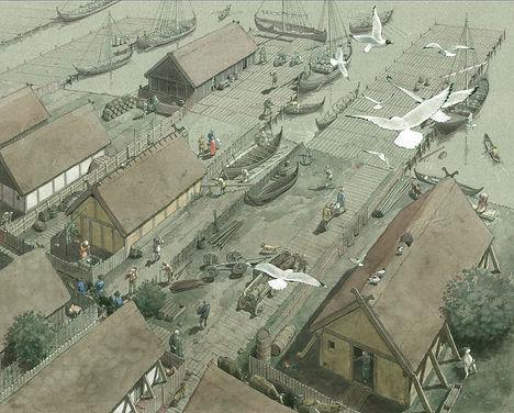Haithabu Hafen,lille72.jpg
